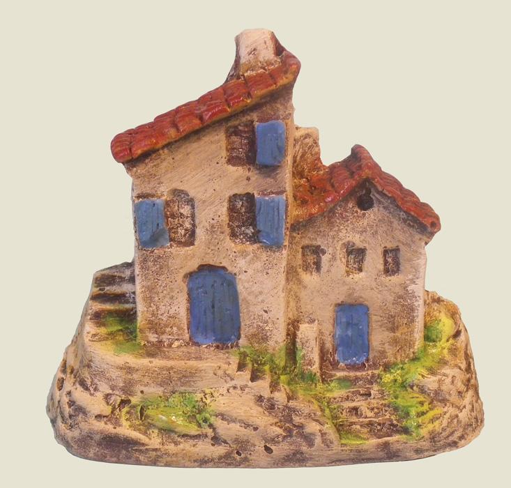 Mini double maison santons truffier douzon for Double maison